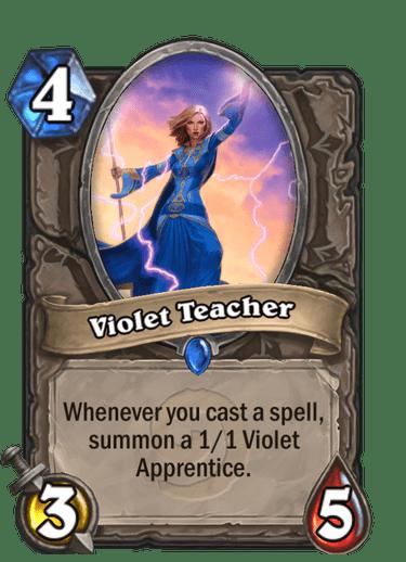 Violet Teacher