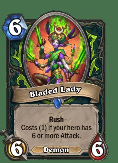 Bladed Lady