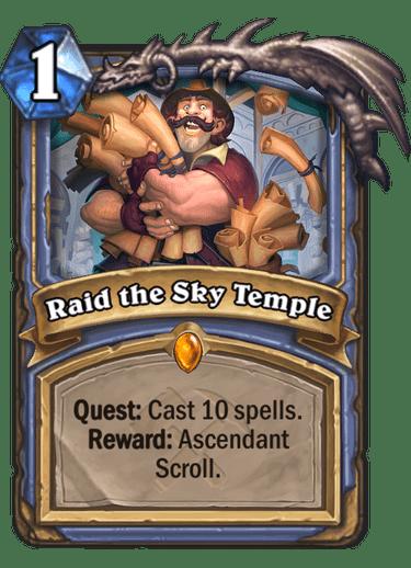 Raid the Sky Temple