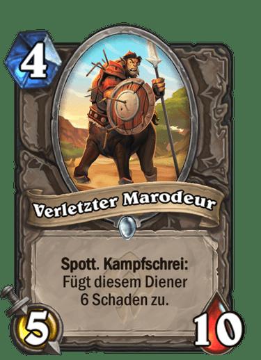 Verletzter Marodeur