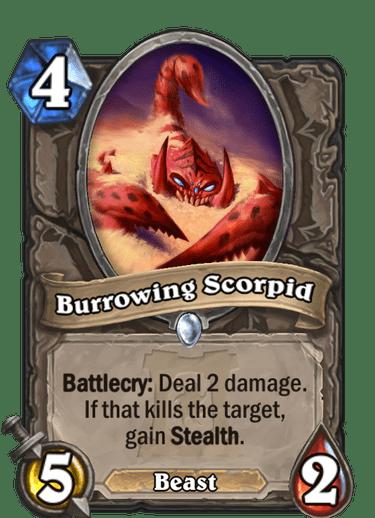 Burrowing Scorpid