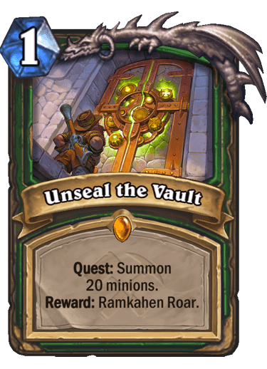 Unseal the Vault
