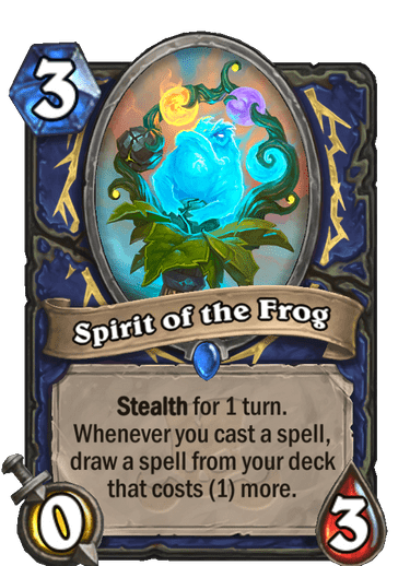 Spirit of the Frog