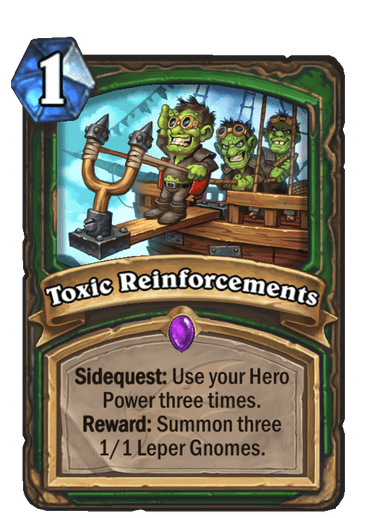 Toxic Reinforcements