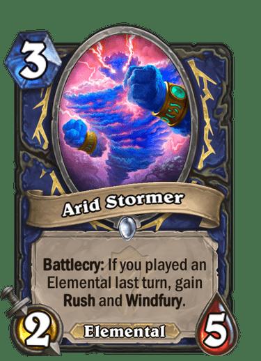 Arid Stormer