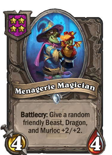 Lightfang Build Menagerie Magician Unit