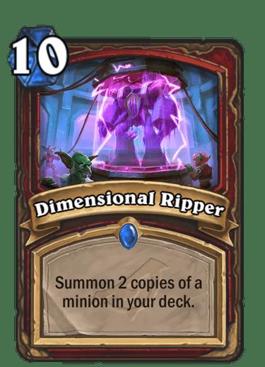 Dimensional Ripper