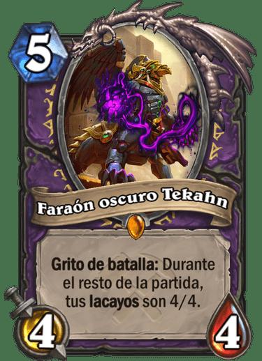 Faraón oscuro Tekahn