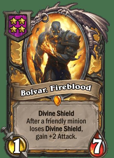Bolvar, Fireblood