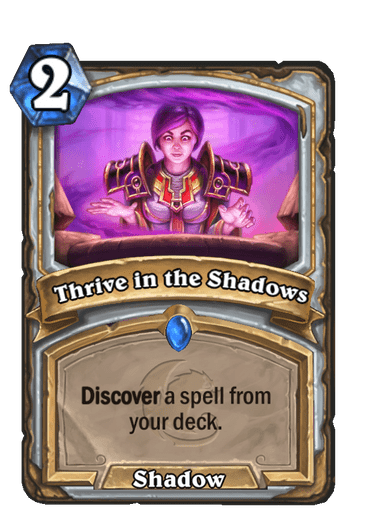 Thrive in the Shadows
