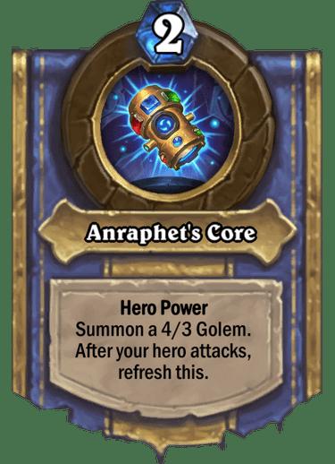 Anraphet's Core