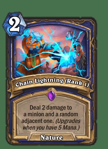 Chain Lightning (Rank 1)