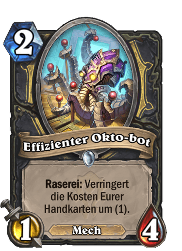 Effizienter Okto-bot