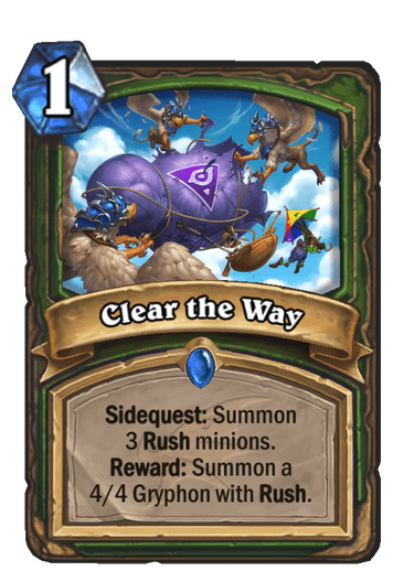 Clear the Way