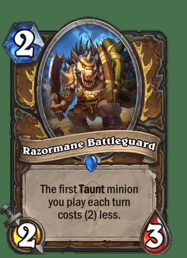 Razormane Battleguard