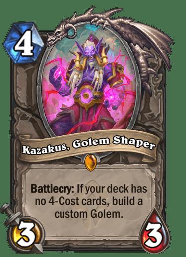 Kazakus, Golem Shaper