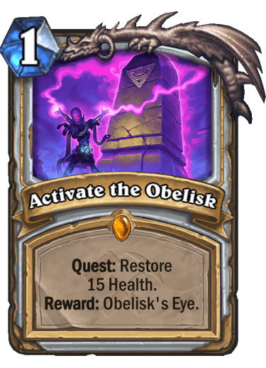 Activate the Obelisk