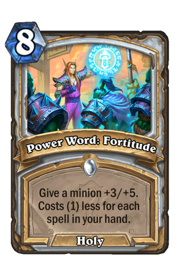 Power Word: Fortitude