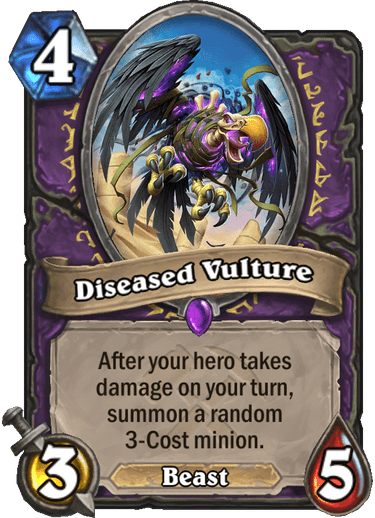 Diseased Vulture
