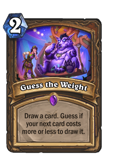 Guess the Weight