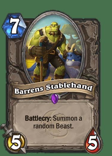 Barrens Stablehand