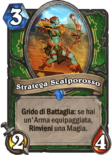 Stratega Scalporosso