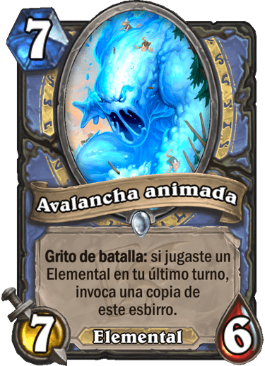 Avalancha animada