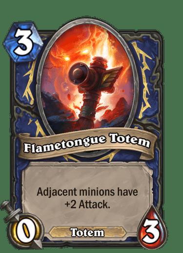 Flametongue Totem
