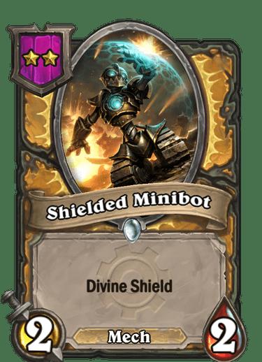 Shielded Minibot