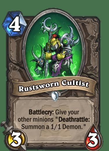 Rustsworn Cultist