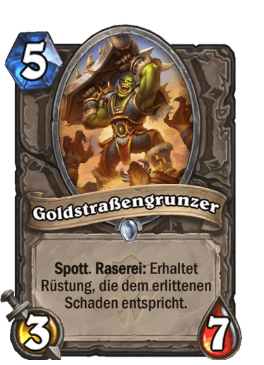 Goldstraßengrunzer