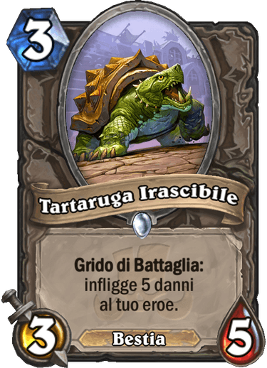 Tartaruge Irascibile