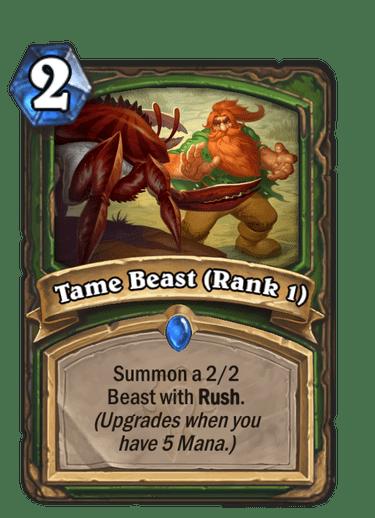 Tame Beast (Rank 1)