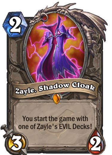 Zayle, Shadow Cloak