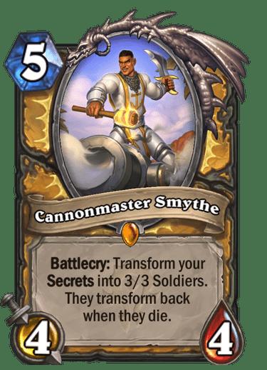 Cannonmaster Smythe