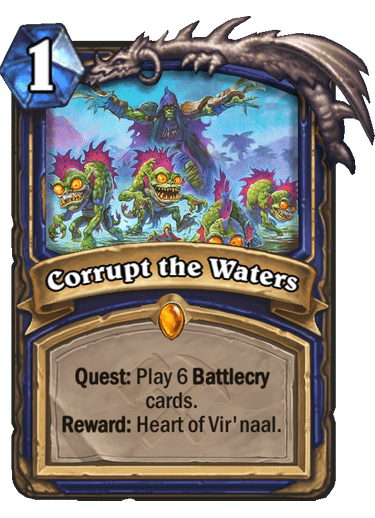 Corrupt the Waters - Hearthstone Card Library - Hearthstone