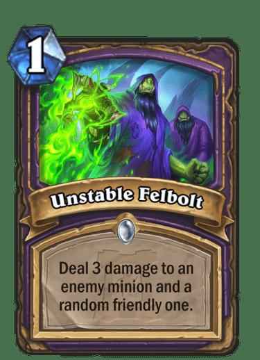 Unstable Felbolt