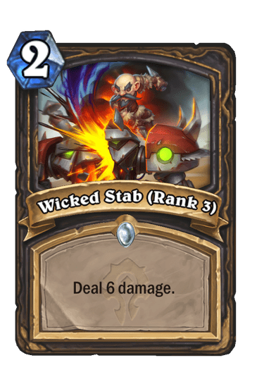 Wicked Stab (Rank 2)