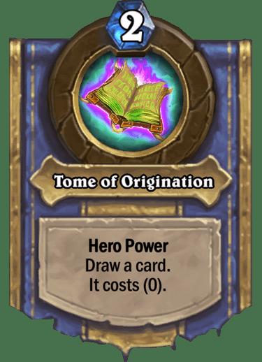 Tome of Origination