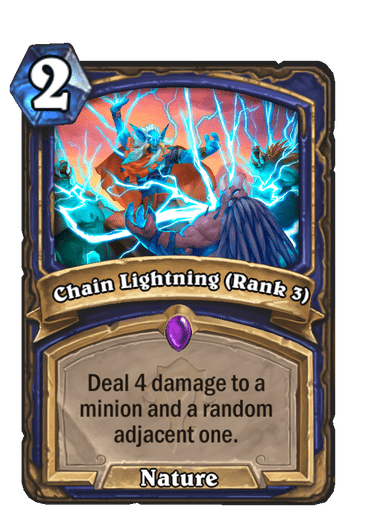 Chain Lightning (Rank 3)