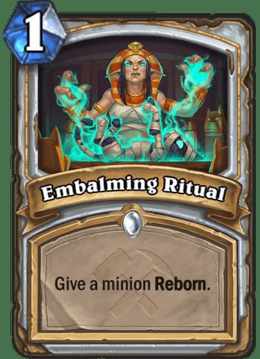 Embalming Ritual
