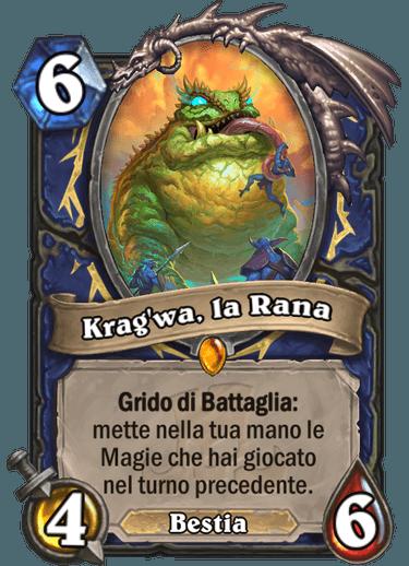 Krag'wa, la Rana