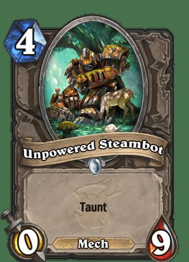 Unpowered Steambot