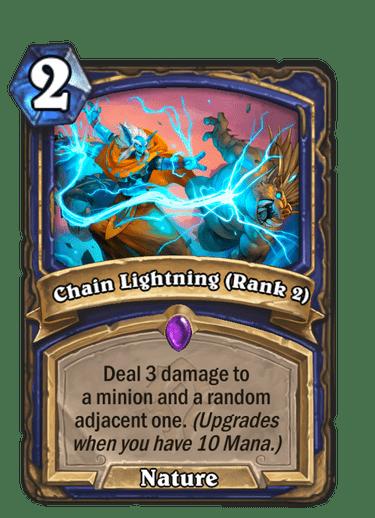 Chain Lightning (Rank 2)