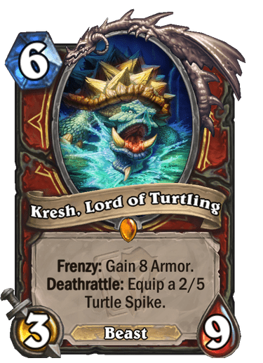 Kresh, Lord of Turtling