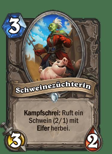 Schweinezüchterin
