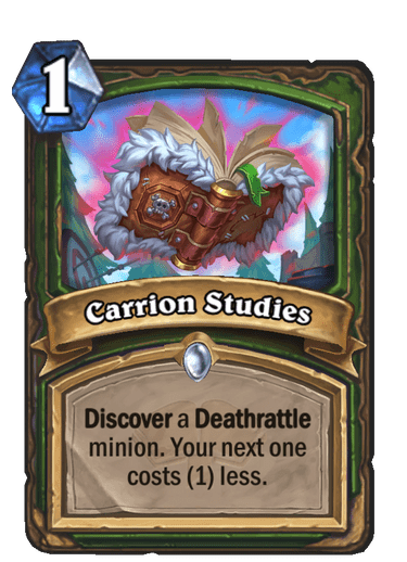 Carrion Studies