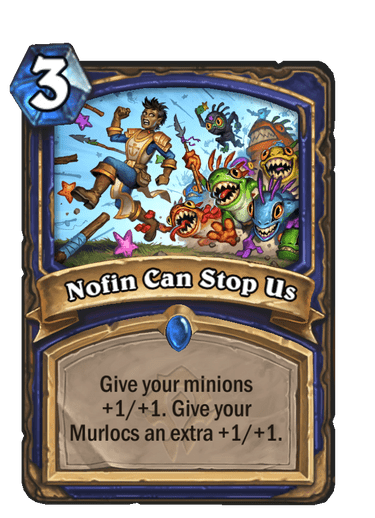 Nofin Can Stop Us