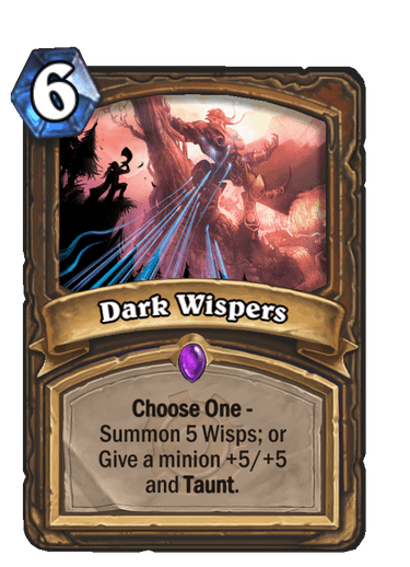 Dark Wispers