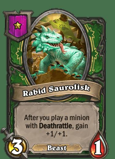Rabid Saurolisk